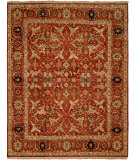 RugStudio presents Famous Maker Pastire 100984 Red Hand-Knotted, Best Quality Area Rug