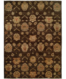 RugStudio presents Famous Maker Royen 100783 Chocolate Hand-Knotted, Best Quality Area Rug