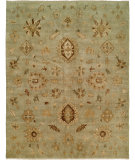 RugStudio presents Famous Maker Royen 100784 Blue Hand-Knotted, Best Quality Area Rug
