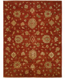 RugStudio presents Famous Maker Royen 100786 Orange Hand-Knotted, Best Quality Area Rug