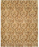 RugStudio presents Famous Maker Royen 100721 Tan Hand-Knotted, Best Quality Area Rug