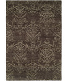 RugStudio presents Famous Maker Royen 100733 Grey Hand-Knotted, Best Quality Area Rug