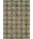 RugStudio presents Famous Maker Royen 100734 Blue Hand-Knotted, Best Quality Area Rug
