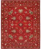 RugStudio presents Famous Maker Sunil 100325 Red Hand-Knotted, Best Quality Area Rug