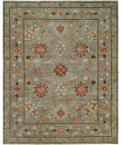 RugStudio presents Famous Maker Sunil 100327 Blue Hand-Knotted, Best Quality Area Rug