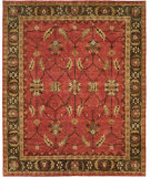 RugStudio presents Famous Maker Sunil 100328 Red Hand-Knotted, Best Quality Area Rug