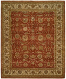 RugStudio presents Famous Maker Sharone 100467 Red Hand-Knotted, Best Quality Area Rug