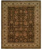 RugStudio presents Famous Maker Sharone 100468 Black Hand-Knotted, Best Quality Area Rug
