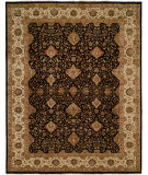 RugStudio presents Famous Maker Sharone 100469 Black Hand-Knotted, Best Quality Area Rug