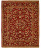 RugStudio presents Famous Maker Sonya 100845 Red Hand-Knotted, Best Quality Area Rug