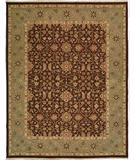 RugStudio presents Famous Maker Sienna 100237 Chocolate Hand-Knotted, Better Quality Area Rug