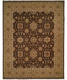 RugStudio presents Famous Maker Sienna 100238 Chocolate Hand-Knotted, Better Quality Area Rug