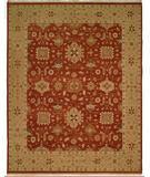 RugStudio presents Famous Maker Sienna 100239 Red Hand-Knotted, Better Quality Area Rug