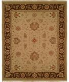 RugStudio presents Famous Maker Sienna 100240 Chocolate Hand-Knotted, Better Quality Area Rug