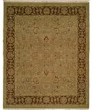 RugStudio presents Famous Maker Sienna 100244 Green Hand-Knotted, Better Quality Area Rug