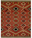 RugStudio presents Famous Maker Soumak 344 Flat-Woven Area Rug