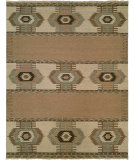 RugStudio presents Famous Maker Soumak 371 Tan Flat-Woven Area Rug