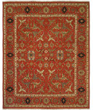 RugStudio presents Famous Maker Soumak 378 Red Flat-Woven Area Rug