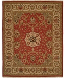 RugStudio presents Famous Maker Soumak 314 Orange Flat-Woven Area Rug