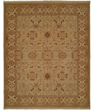 RugStudio presents Famous Maker Soumak 321 Green Flat-Woven Area Rug