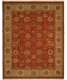RugStudio presents Famous Maker Soumak 329 Orange Flat-Woven Area Rug