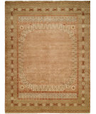 RugStudio presents Famous Maker Tahone 100378 Tan Hand-Knotted, Best Quality Area Rug
