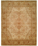 RugStudio presents Famous Maker Tahone 100384 Tan Hand-Knotted, Best Quality Area Rug