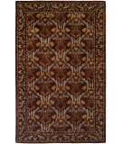 RugStudio presents Kalaty Terrazzo TZ-334 Classic Brown Hand-Tufted, Best Quality Area Rug