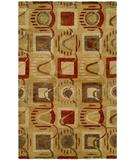 RugStudio presents Kalaty Empire Em-310 Green Hand-Tufted, Best Quality Area Rug