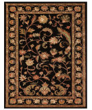 RugStudio presents Rugstudio Sample Sale 100036R Black Hand-Tufted, Best Quality Area Rug