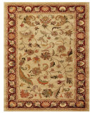 RugStudio presents Feizy Yale 8236f Ivory/Red Hand-Tufted, Best Quality Area Rug