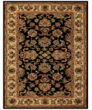 RugStudio presents Feizy Yale 8527f Black/Gold Hand-Tufted, Best Quality Area Rug