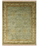 RugStudio presents Feizy Amore 8239f Ocean / Beige Hand-Tufted, Best Quality Area Rug