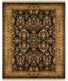 RugStudio presents Feizy Amore 8327f Black/Gold Hand-Tufted, Best Quality Area Rug
