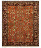 RugStudio presents Feizy Amore 8327f Cinnamon/Plum Hand-Tufted, Best Quality Area Rug