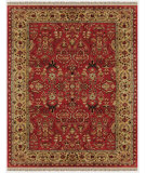 RugStudio presents Feizy Amore 8327f Red/Light Gold Hand-Tufted, Best Quality Area Rug