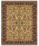 RugStudio presents Feizy Amore 8492f Gold/Black Hand-Tufted, Best Quality Area Rug