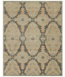 RugStudio presents Famous Maker Stephan 44656 Ivory-Silver Machine Woven, Good Quality Area Rug