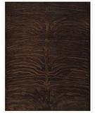 RugStudio presents Famous Maker Stephan 44668 Dark Chocolate Machine Woven, Good Quality Area Rug