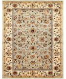 RugStudio presents Feizy Ziba 8654f Celery/Ivory Hand-Tufted, Best Quality Area Rug