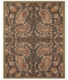 RugStudio presents Famous Maker Gallery C 27721 Chocolate Hand-Hooked Area Rug