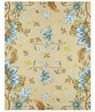 RugStudio presents Famous Maker Gallery C 27722 Beige Hand-Hooked Area Rug