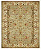 RugStudio presents Feizy Alexandra 8055f Sage/Ivory Hand-Tufted, Best Quality Area Rug