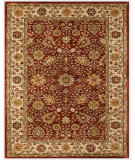 RugStudio presents Feizy Alexandra 8058f Cranberry/Ivory Hand-Tufted, Best Quality Area Rug