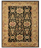 RugStudio presents Feizy Alexandra 8062f Black/Gold Hand-Tufted, Best Quality Area Rug