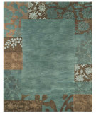 RugStudio presents Feizy Mantra 8190f Teal Hand-Tufted, Best Quality Area Rug