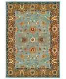 RugStudio presents Feizy Magellan 8270f Light Blue/Brown Hand-Tufted, Best Quality Area Rug