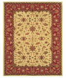 RugStudio presents Feizy Magellan 8274f Light Gold/Burgundy Hand-Tufted, Best Quality Area Rug