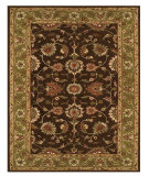 RugStudio presents Feizy Magellan 8275f Dark Brown/Green Hand-Tufted, Best Quality Area Rug