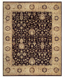 RugStudio presents Feizy Drake 6047f Black/Beige Hand-Knotted, Best Quality Area Rug